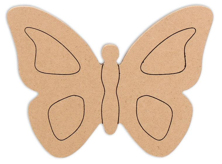 "Butterfly Plaque 6"" - The Artsy Soul"