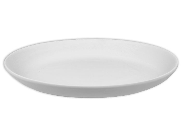 "Medium Coupe Oval Platter 10"" - The Artsy Soul"
