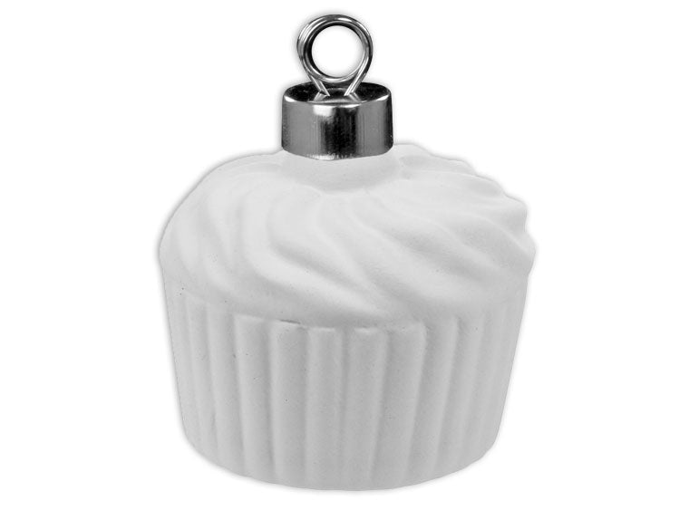 Cupcake Ornament - The Artsy Soul