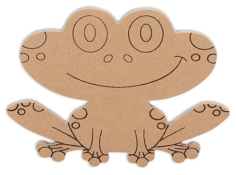 "Frog Plaque 6"" - The Artsy Soul"