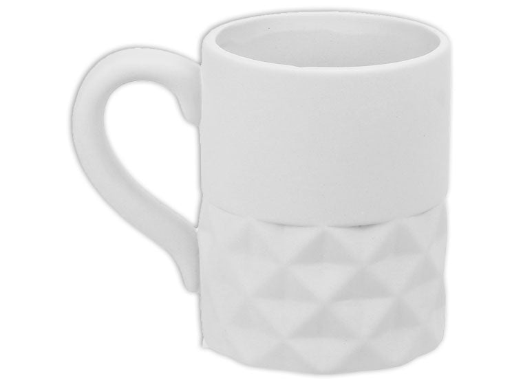 Geometric Split Mug - The Artsy Soul
