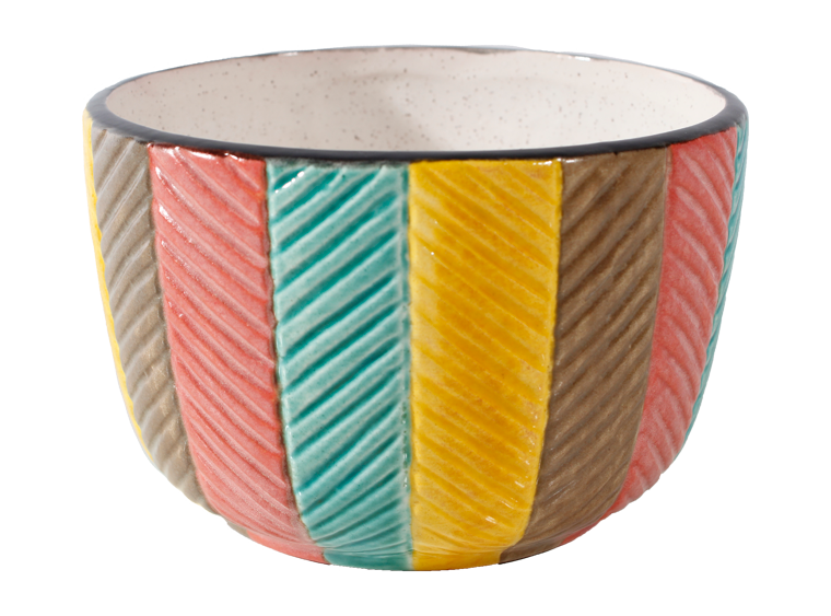Herringbone Bowl - The Artsy Soul