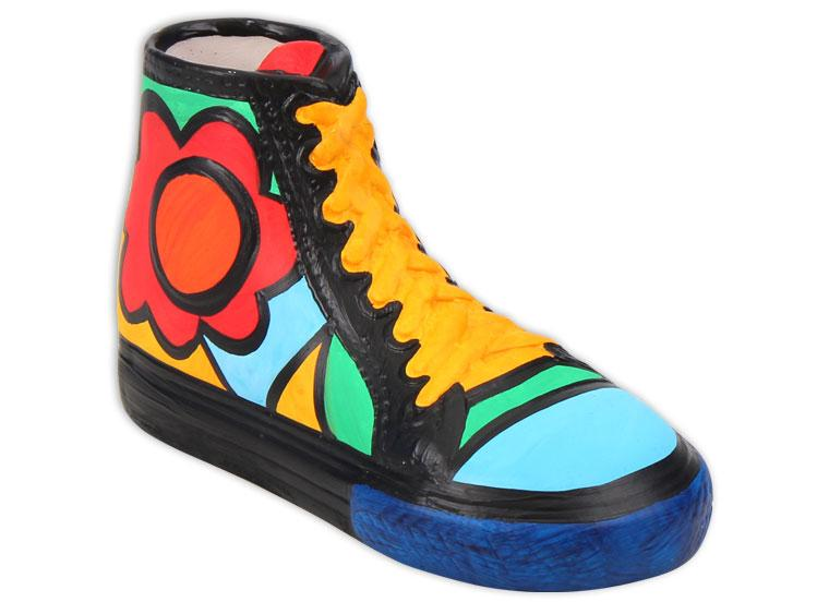 High Top Shoe - The Artsy Soul