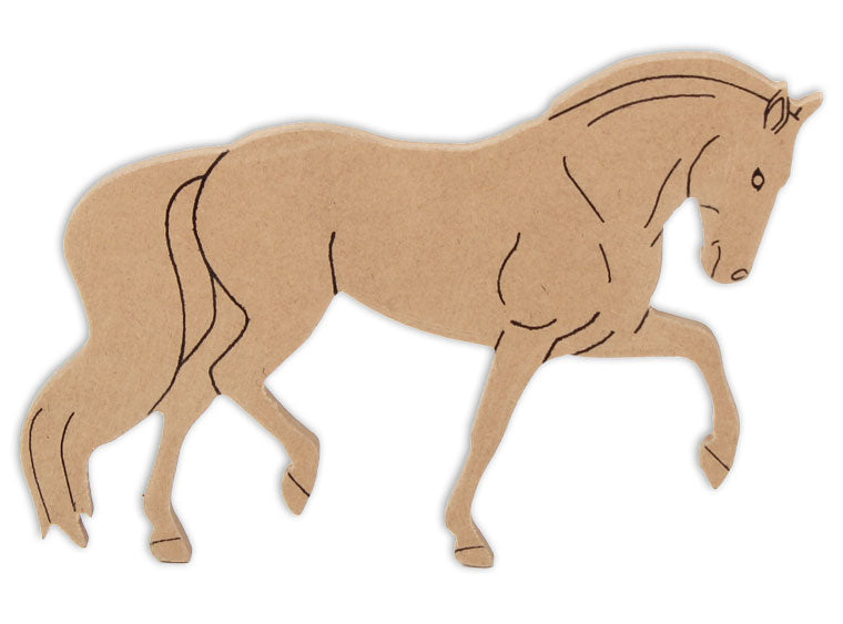 Horse Plaque 8 in. - The Artsy Soul