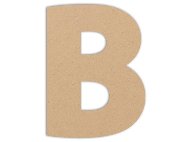 "Letter Plaque - B 6"" - The Artsy Soul"