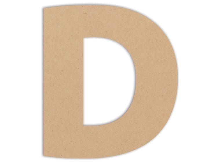 "Letter Plaque - D 6"" - The Artsy Soul"