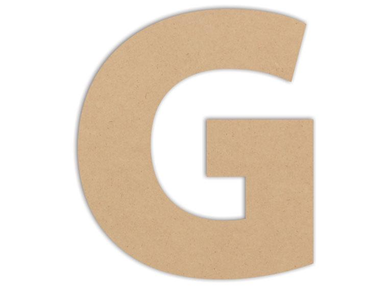 "Letter Plaque - G 6"" - The Artsy Soul"