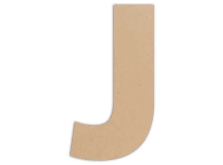 "Letter Plaque - J 6"" - The Artsy Soul"
