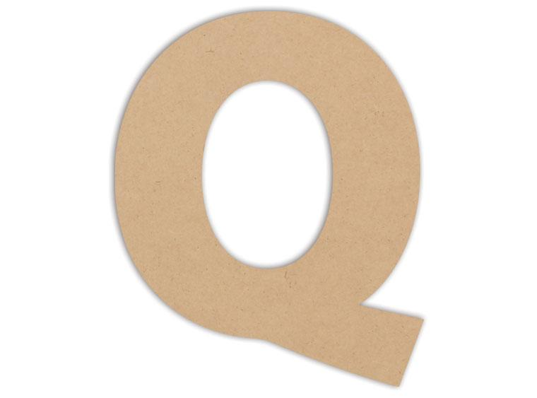 "Letter Plaque - Q 6"" - The Artsy Soul"