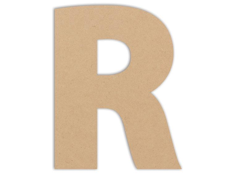 "Letter Plaque - R 6"" - The Artsy Soul"