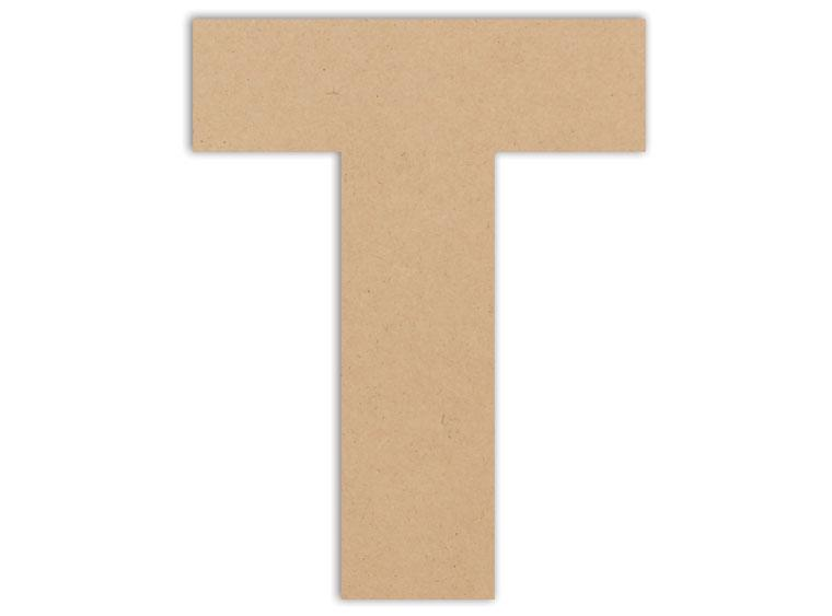 "Letter Plaque - T 6"" - The Artsy Soul"