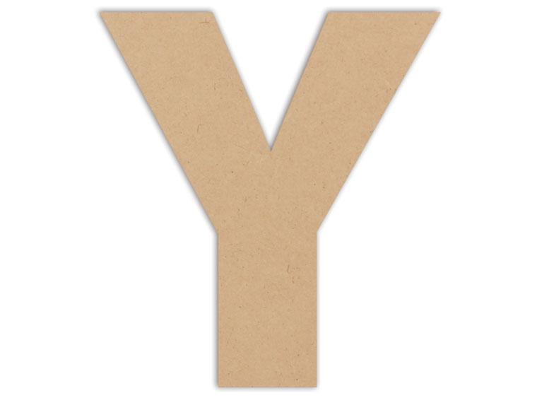 "Letter Plaque - Y 6"" - The Artsy Soul"