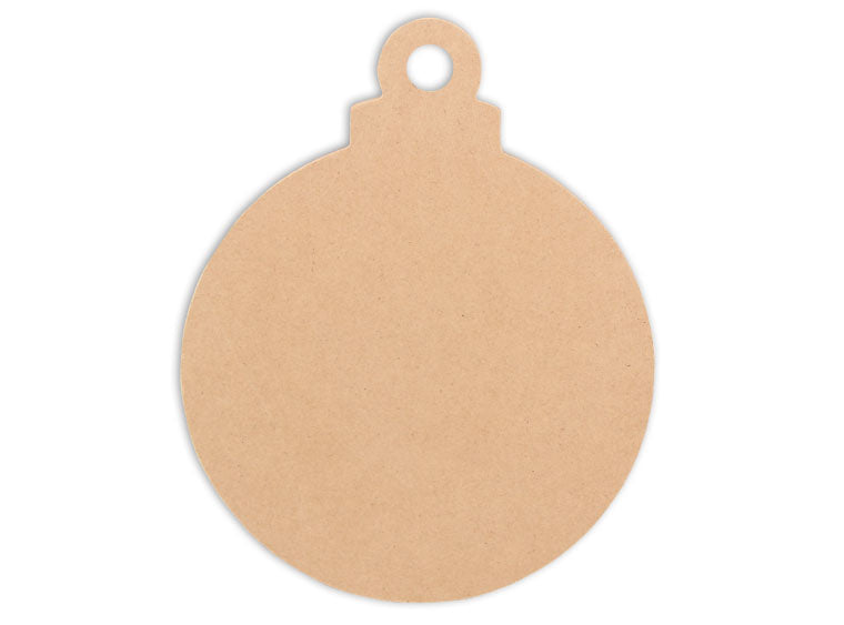 Ornament Ball Plaque 8 in. - The Artsy Soul