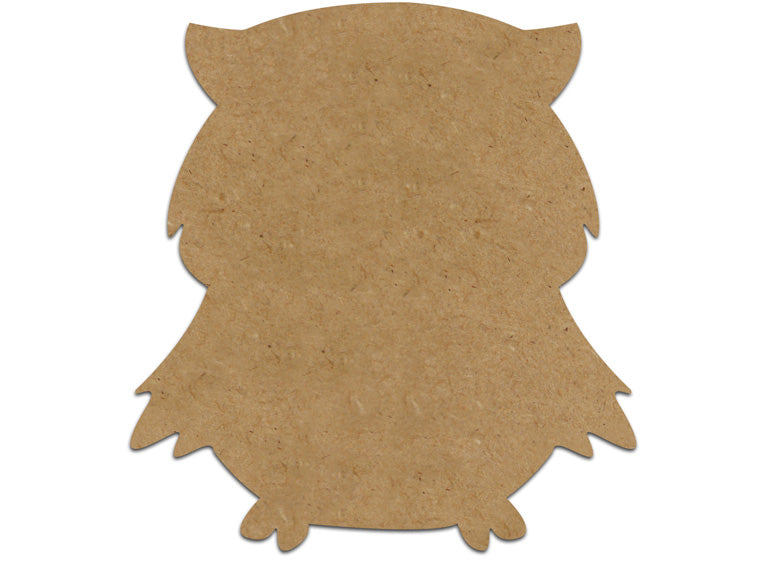 Owl Plaque - Small - The Artsy Soul