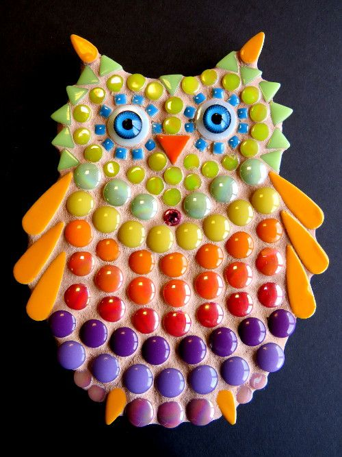Owlet Mosaic DIY Kit - The Artsy Soul