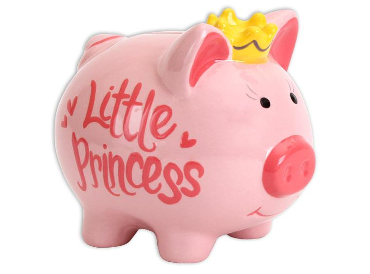Princess Pig Bank - The Artsy Soul