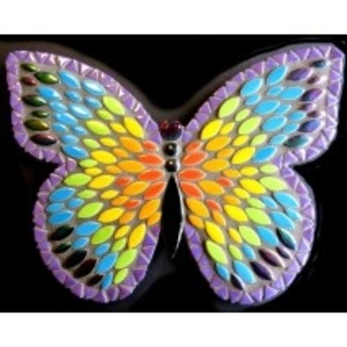 "Admiral Butterfly 10"" DIY Kit Rainbow - The Artsy Soul"
