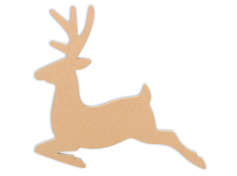 "Reindeer Plaque 12"" - The Artsy Soul"