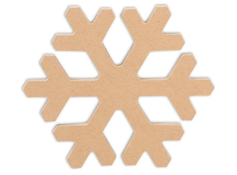 "Snowflake Plaque 6"" - The Artsy Soul"