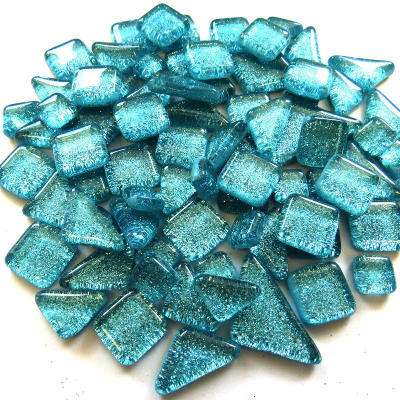 Turquoise Glitter - The Artsy Soul