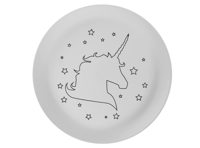 Star Unicorn Plate - The Artsy Soul
