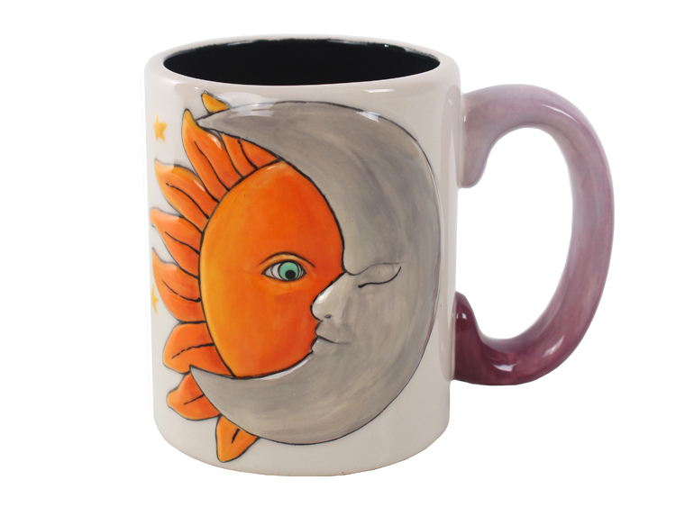 Sun and Moon Mug - The Artsy Soul