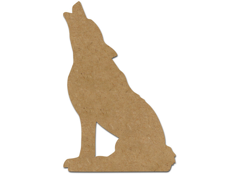 "Wolf Plaque 8"" - The Artsy Soul"