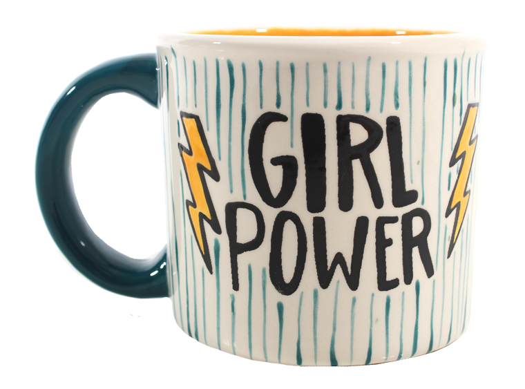 Girl Power Mug - The Artsy Soul
