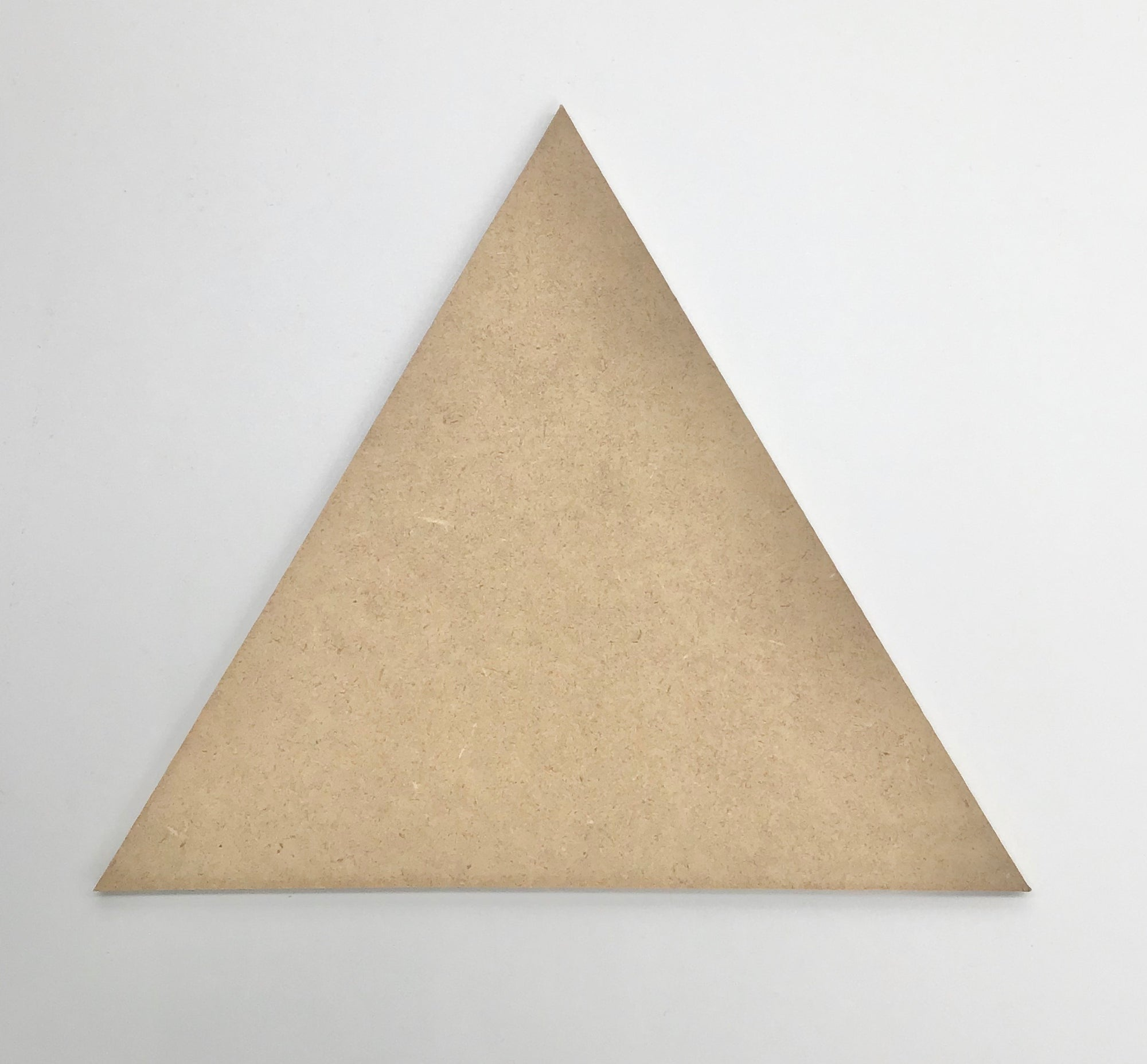 "Triangle Plaque 8"" - The Artsy Soul"