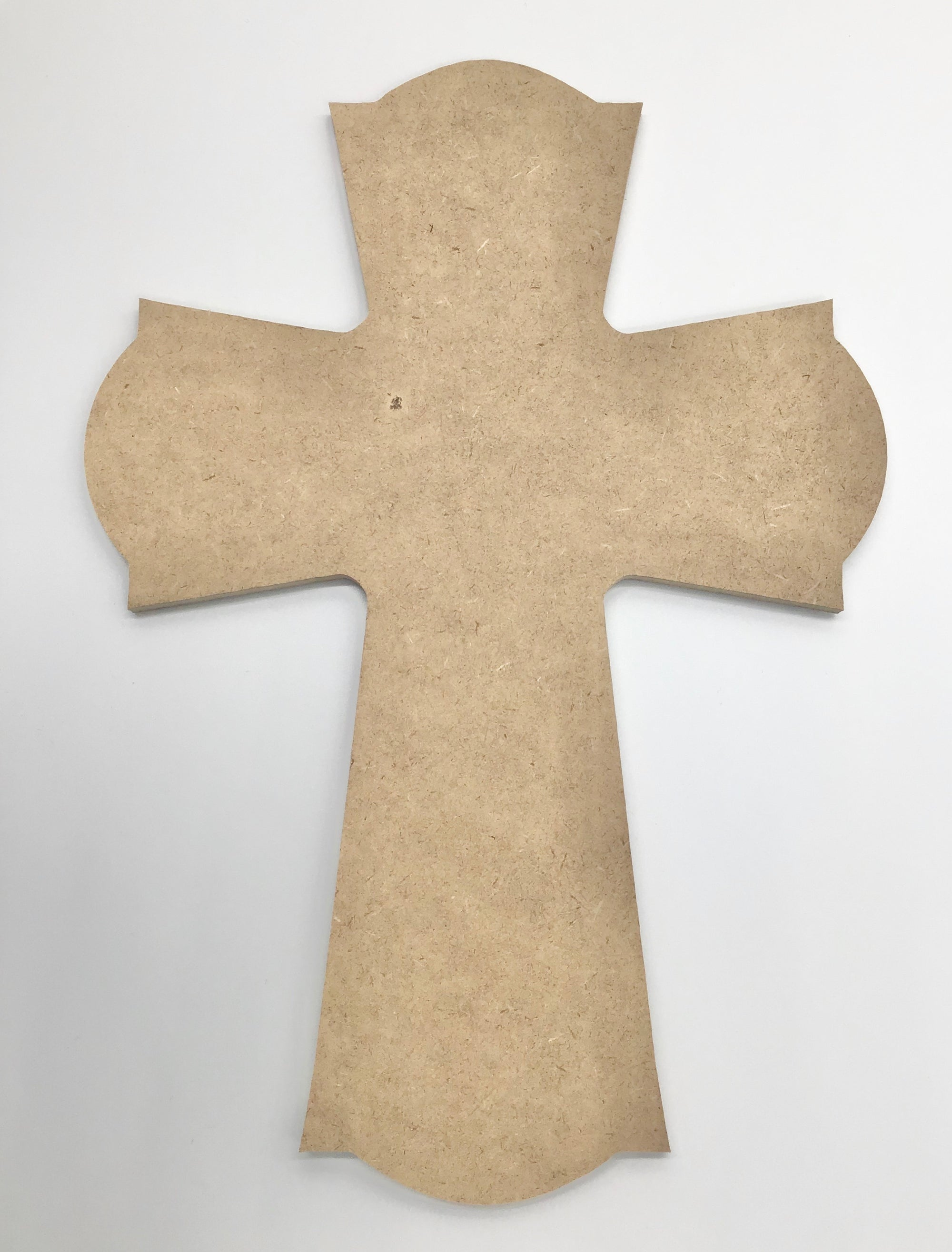 "Fluted Cross Plaque 10"" - The Artsy Soul"