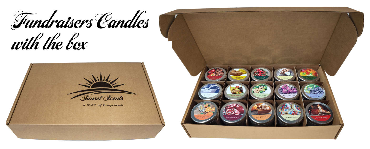 Scented Fundraisers Candles