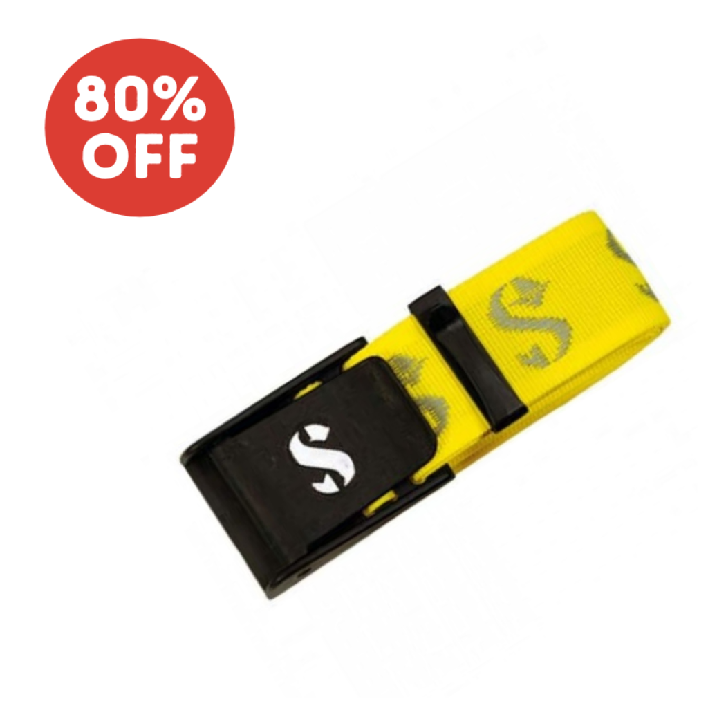SCUBAPRO STANDARD WEIGHT BELT YELLOW