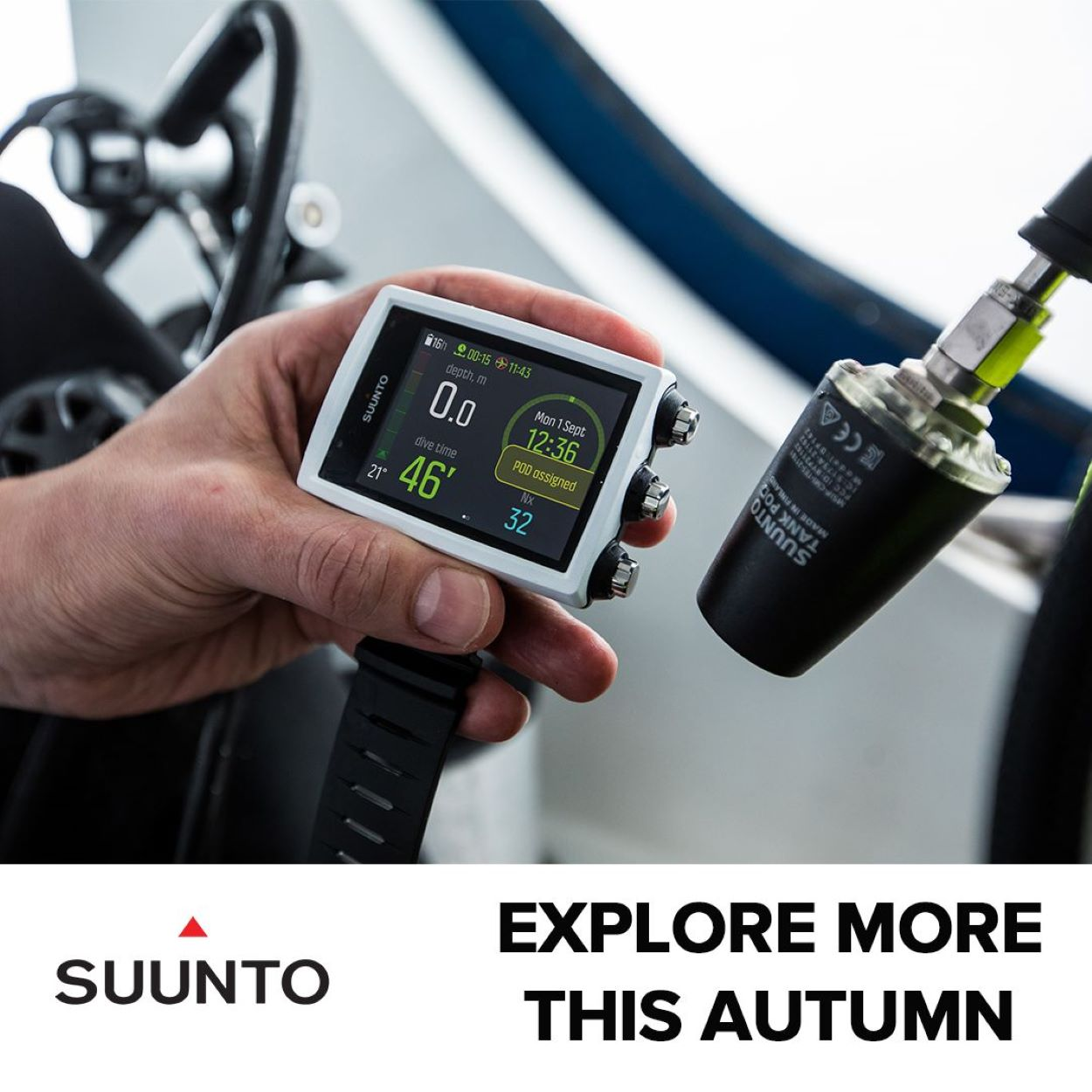 SUUNTO EON CORE AND TANK POD AUTUNM OFFER