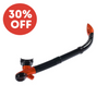 TYPHOON EON SEMI DRY SNORKEL - BLACK/ORANGE