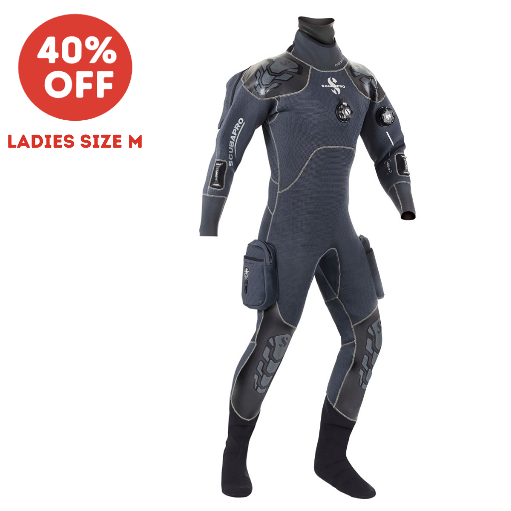SCUBAPRO EVERDRY 4 PRO DRYSUIT LADIES MEDIUM