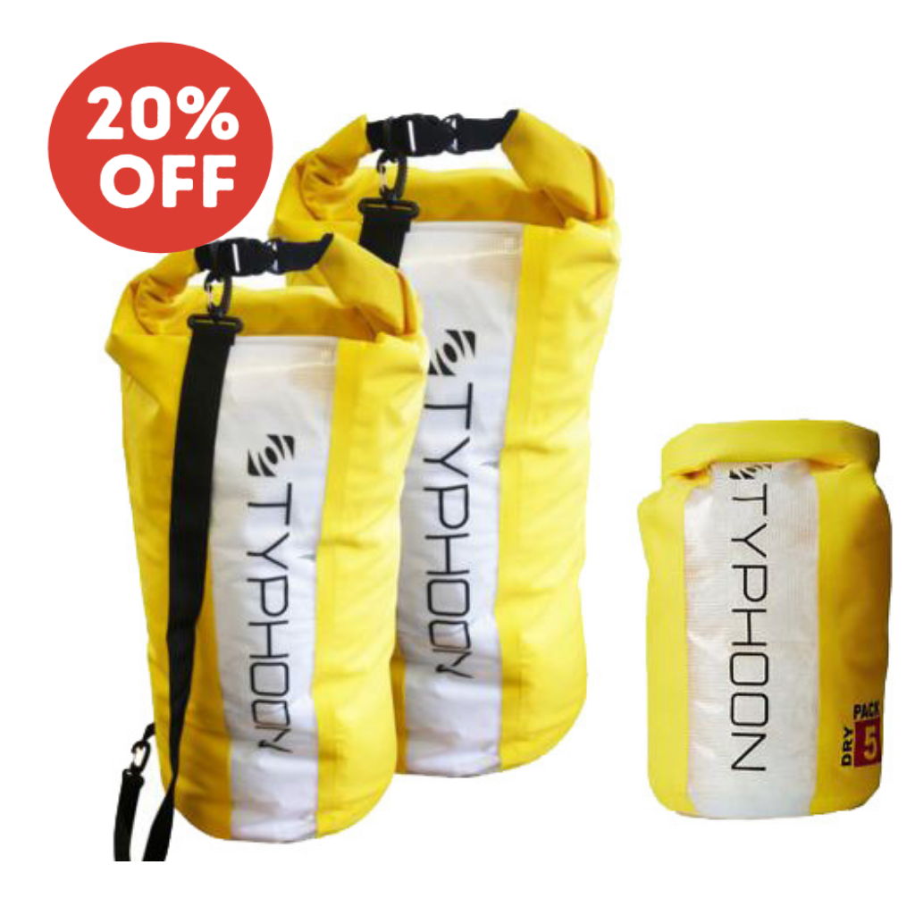 Typhoon Dry Bag with Window and Strap 20ltr