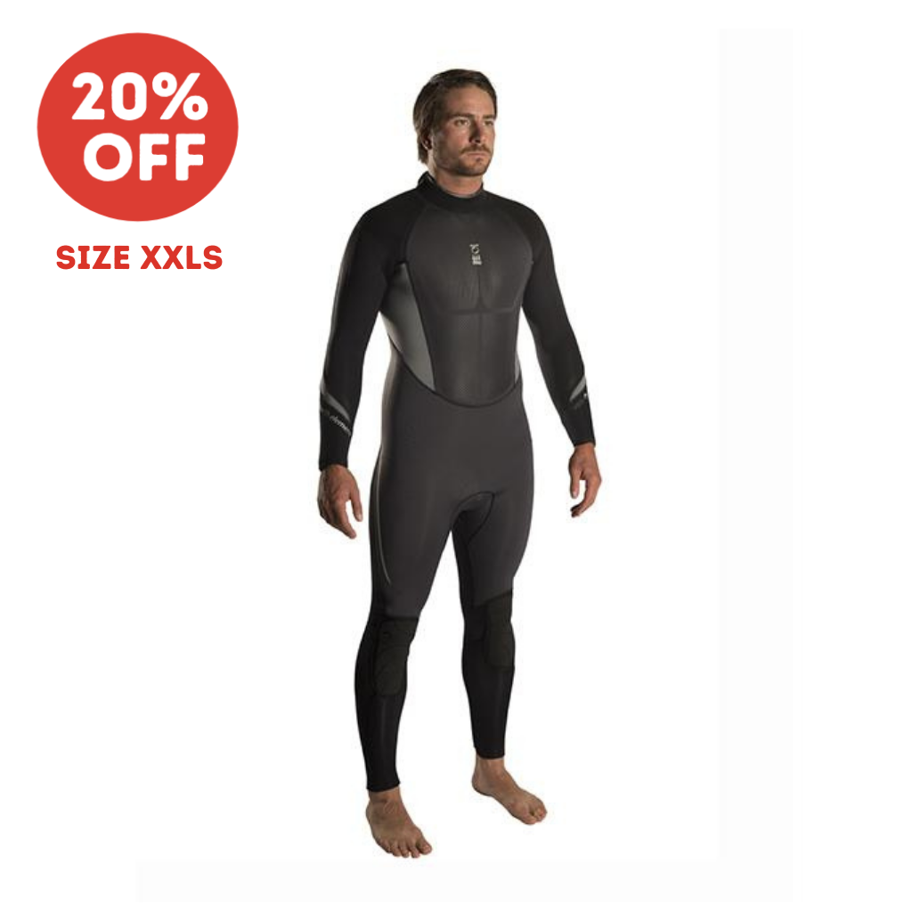 FOURTH ELEMENT XENOS MENS WETSUIT 5MM SIZE XXLS