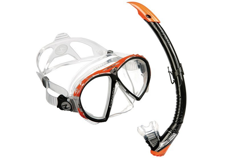 AQUA LUNG FAVOLA MASK & SNORKEL SET