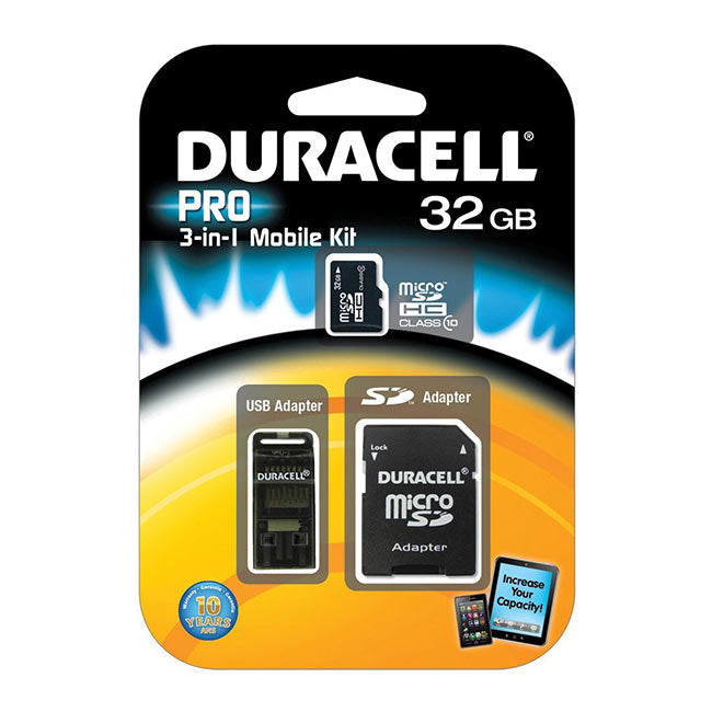 DURACELL 32GB MICRO SD CARD