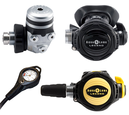 AQUA LUNG LEGEND SUPREME REGULATOR SET