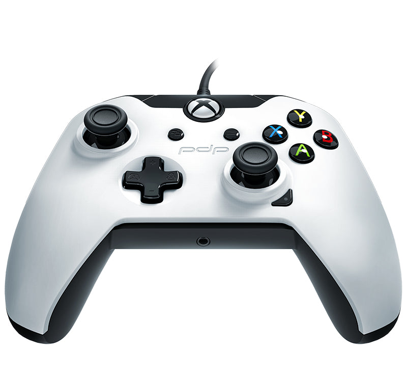 PDP 048-082-EU-WH01 Gaming Controller Gamepad PC, Xbox One Analogue / Digital USB Black, White