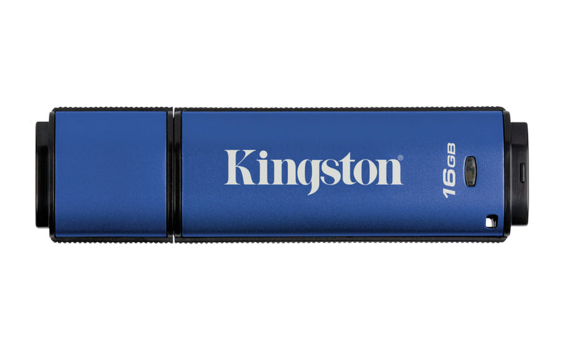Kingston Technology DataTraveler Vault Privacy 3.0 16GB USB flash drive USB Type-A 3.2 Gen 1 (3.1 Gen 1) Blue