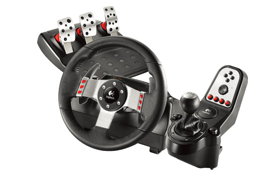 Logitech G27 Racing Wheel Steering wheel + Pedals Playstation 2,Playstation 3 USB Black