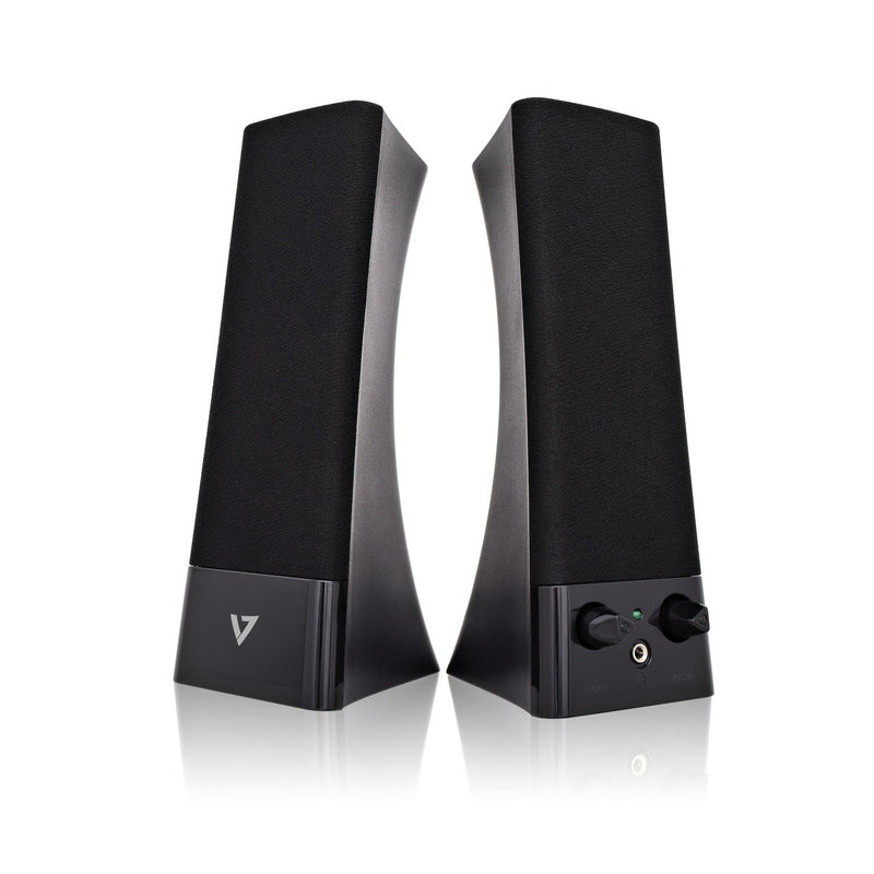 V7 USB Powered Stereo Speakers - for Notebook and Desktop