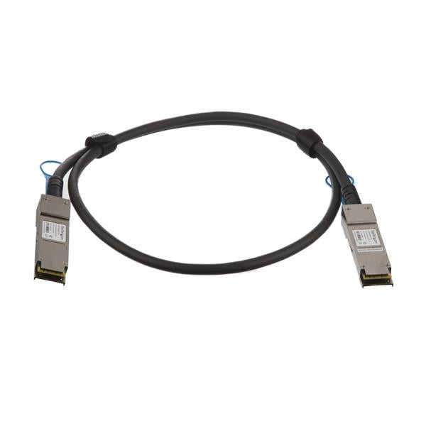 StarTech.com Cisco QSFP-H40G-CU1M Compatible 1m 40G QSFP+ to QSFP+ Direct Attach Cable Twinax - 40GbE QSFP+ Copper DAC 40 Gbps Low Power Passive Transceiver Module DAC Firepower C9200 C9400