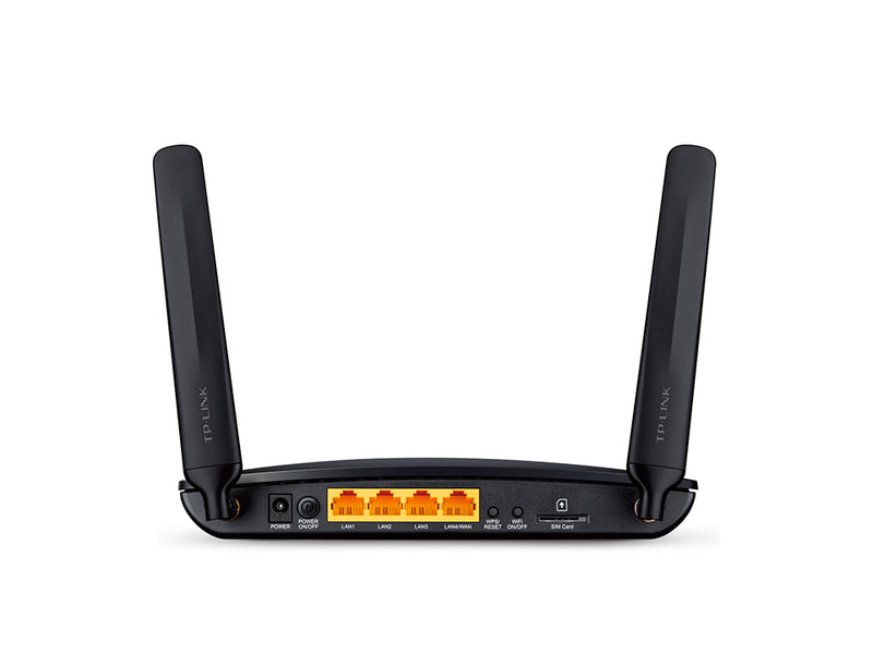 TP-LINK Archer MR200 wireless router Dual-band (2.4 GHz / 5 GHz) Fast Ethernet 3G 4G Black