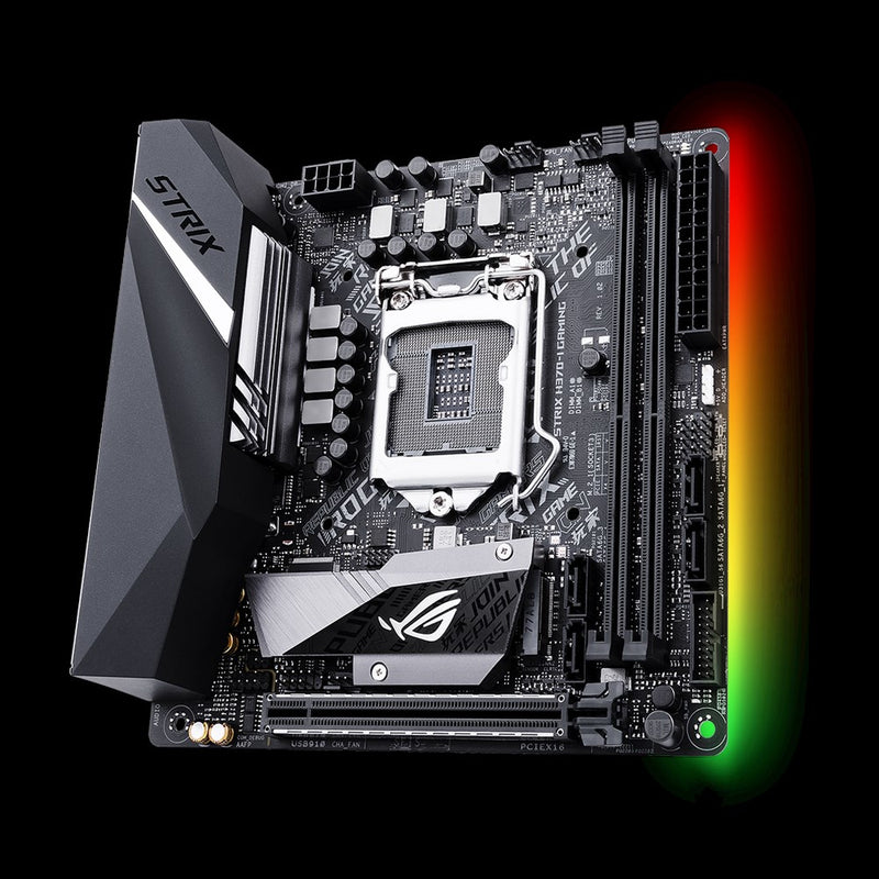 ASUS ROG Strix H370-I Gaming LGA 1151 (Socket H4) mini ITX Intel® H370