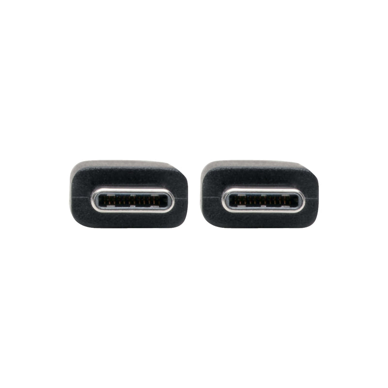 Tripp Lite USB Type-C to USB Type-C Cable (M/M) - 2.0, 3A Rating, USB-IF Certified, Thunderbolt 3, 0.91 m