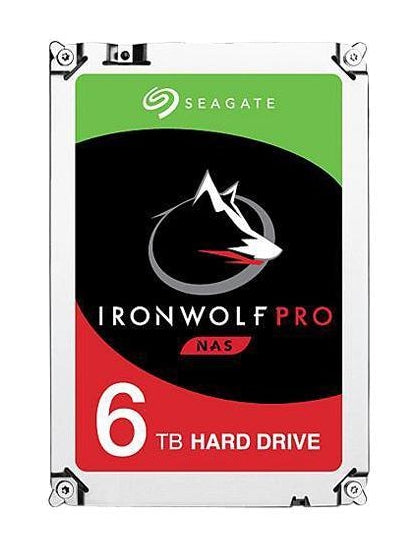 "Seagate IronWolf Pro ST6000NE000 internal hard drive 3.5"" 6000 GB Serial ATA III"