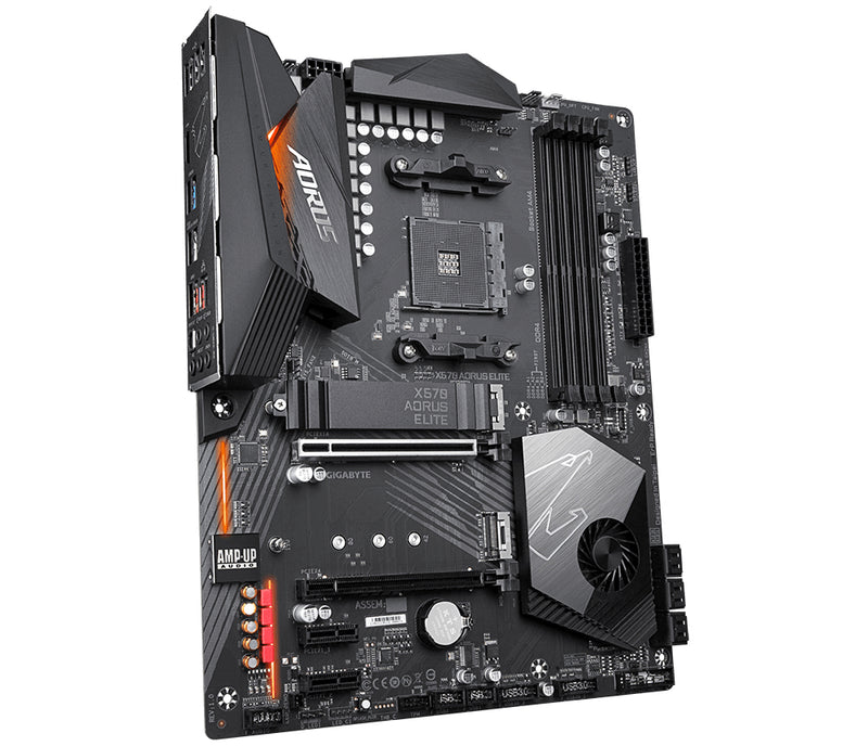 Gigabyte X570 AORUS ELITE (rev. 1.0) AMD X570 Socket AM4 ATX
